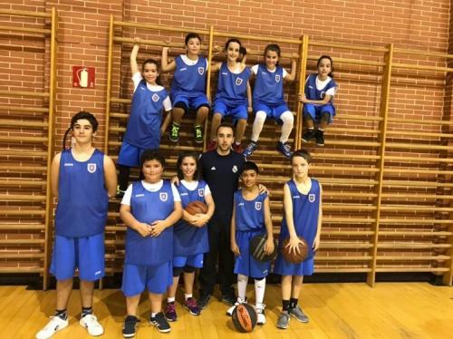 Equipos de Baloncesto de Educación Primaria. Curso 2017-18