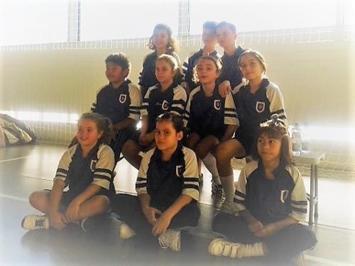 Equipo Balonmano de Educación Primaria. Curso 2017-18